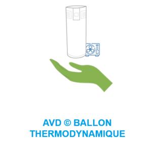 AVD installateur pac ballon thermodynamique photovoltaique climatisation reversible Bourgoin Isere Lyon