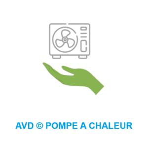 AVD installateur pompe a chaleur photovoltaique climatisation reversible Bourgoin Isere Lyon